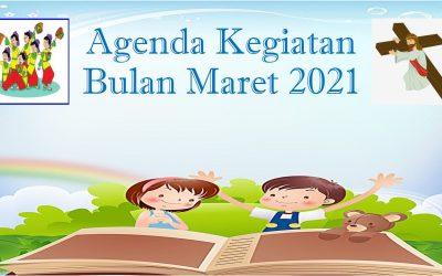 Agenda Kegiatan Bulan Maret 2021