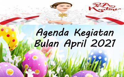 Agenda Kegiatan Bulan April 2021