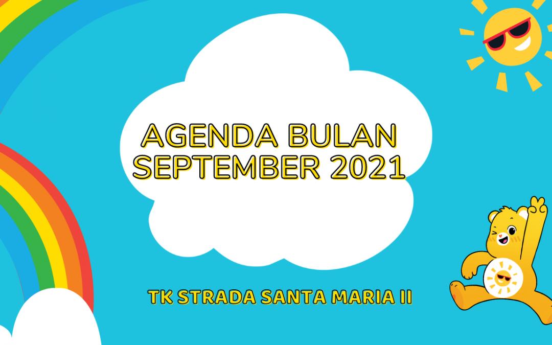 AGENDA BULAN SEPTEMBER 2021